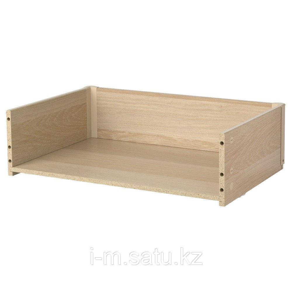 БЕСТО Каркас ящика, под беленый дуб, 60x15x40 см