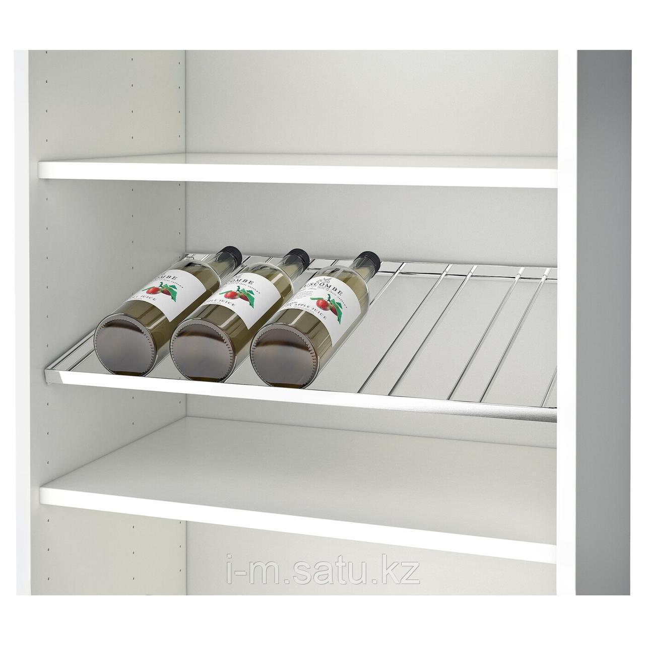 БЕСТО Подставка для 6 бутылок, хромированный