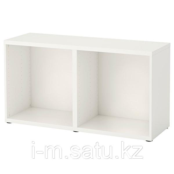 БЕСТО Каркас, белый, 120x40x64 см