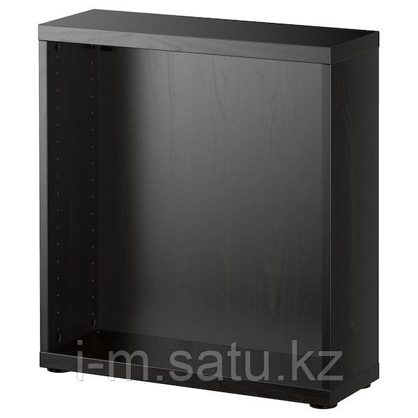 БЕСТО Каркас, черно-коричневый, 60x20x64 см