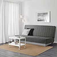 БЕДИНГЕ 3-местный диван-кровать, Шифтебу темно-серый, фото 1