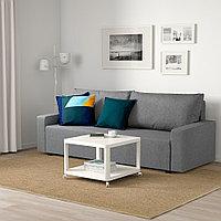 ГИММАРП 3-местный диван-кровать, Рудорна светло-серый, фото 1