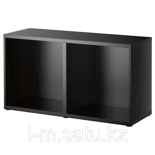 БЕСТО Каркас, черно-коричневый, 120x40x64 см