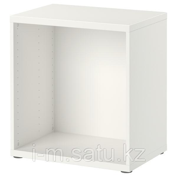 БЕСТО Каркас, белый, 60x40x64 см