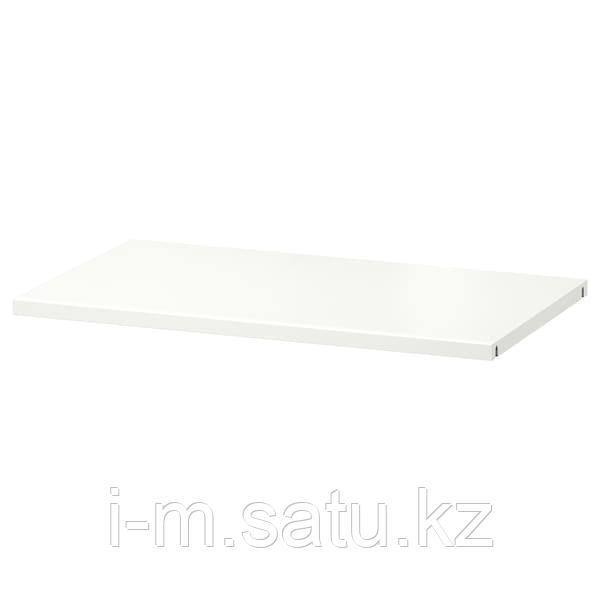 БЕСТО Полка, белый, 56x36 см