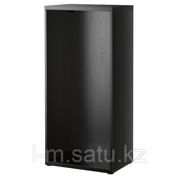 БЕСТО Каркас, черно-коричневый, 60x40x128 см