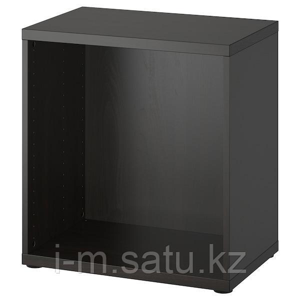 БЕСТО Каркас, черно-коричневый, 60x40x64 см