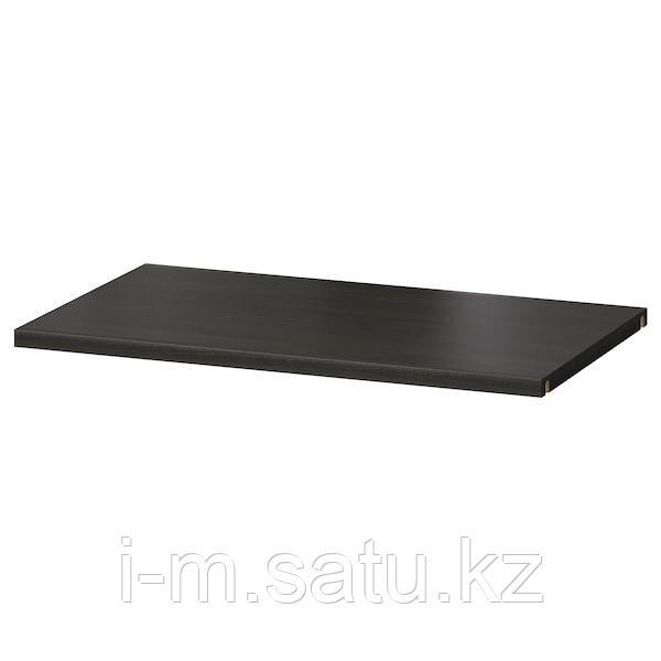 БЕСТО Полка, черно-коричневый, 56x36 см