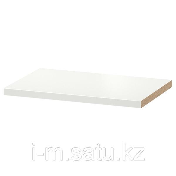 БИЛЛИ Полка дополнительная, белый, 36x26 см