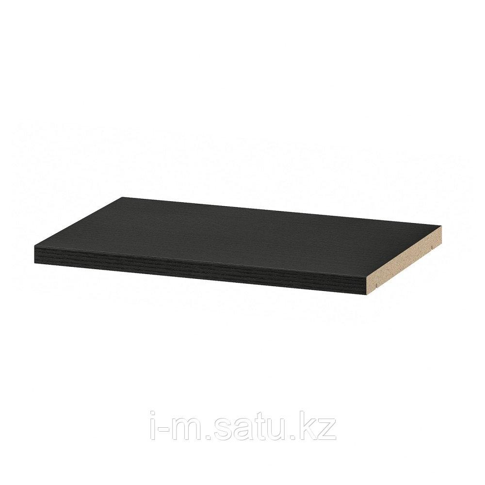 БИЛЛИ Полка дополнительная, черно-коричневый, 36x26 см