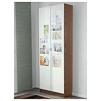 БИЛЛИ / МОРЛИДЕН Стеллаж, коричневый ясеневый шпон, 80x30x202 см, фото 1