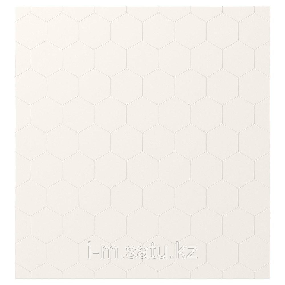 ВАЛЬВИКЕН Дверь, белый, 60x64 см