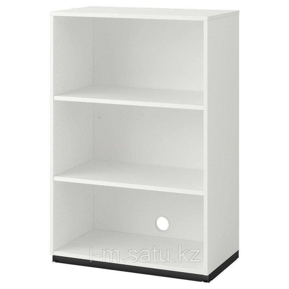 ГАЛАНТ Секция полок, белый, 80x120 см