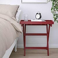 МАРЮД Стол сервировочный, темно-красный, 58x38x58 см, фото 1