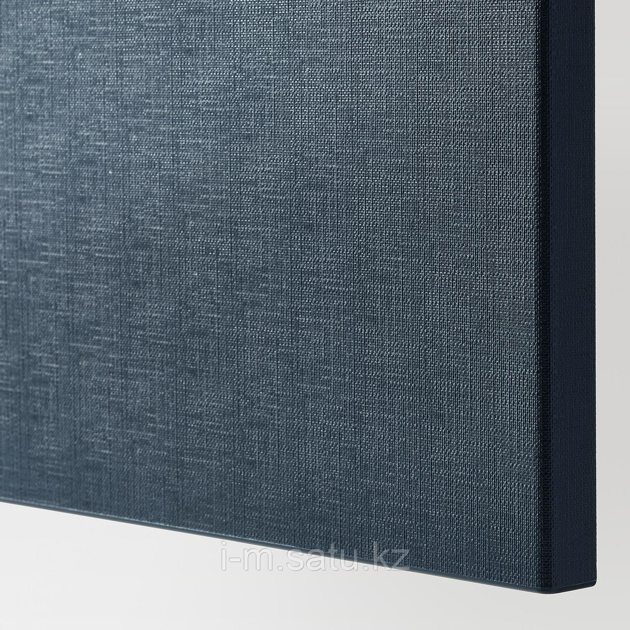 НОТВИКЕН Фронтальная панель ящика, синий, 60x26 см