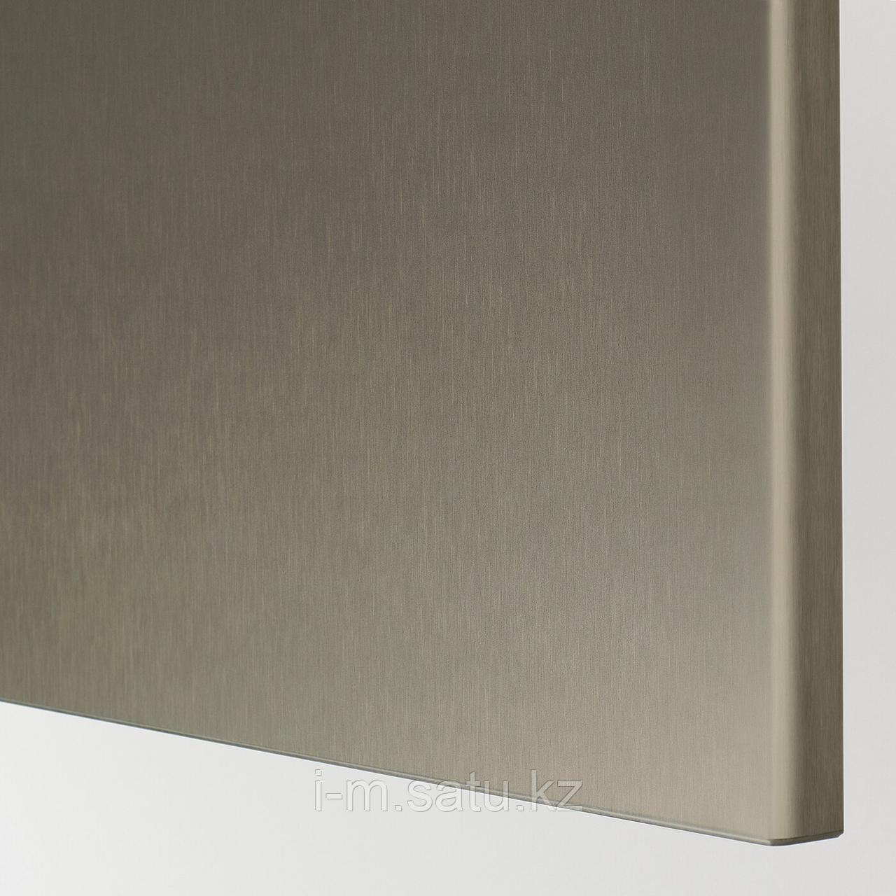 РИКСВИКЕН Дверь, под светлую бронзу, 60x64 см
