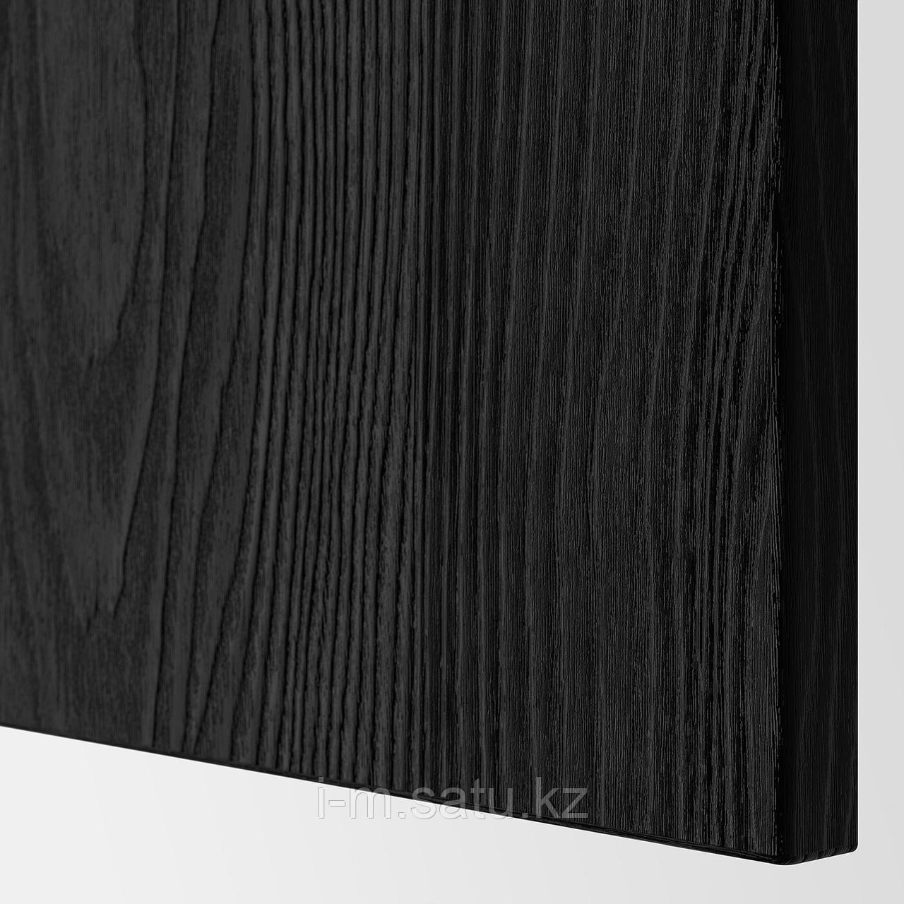 ТИММЕРВИКЕН Дверь/фронтальная панель ящика, черный, 60x38 см