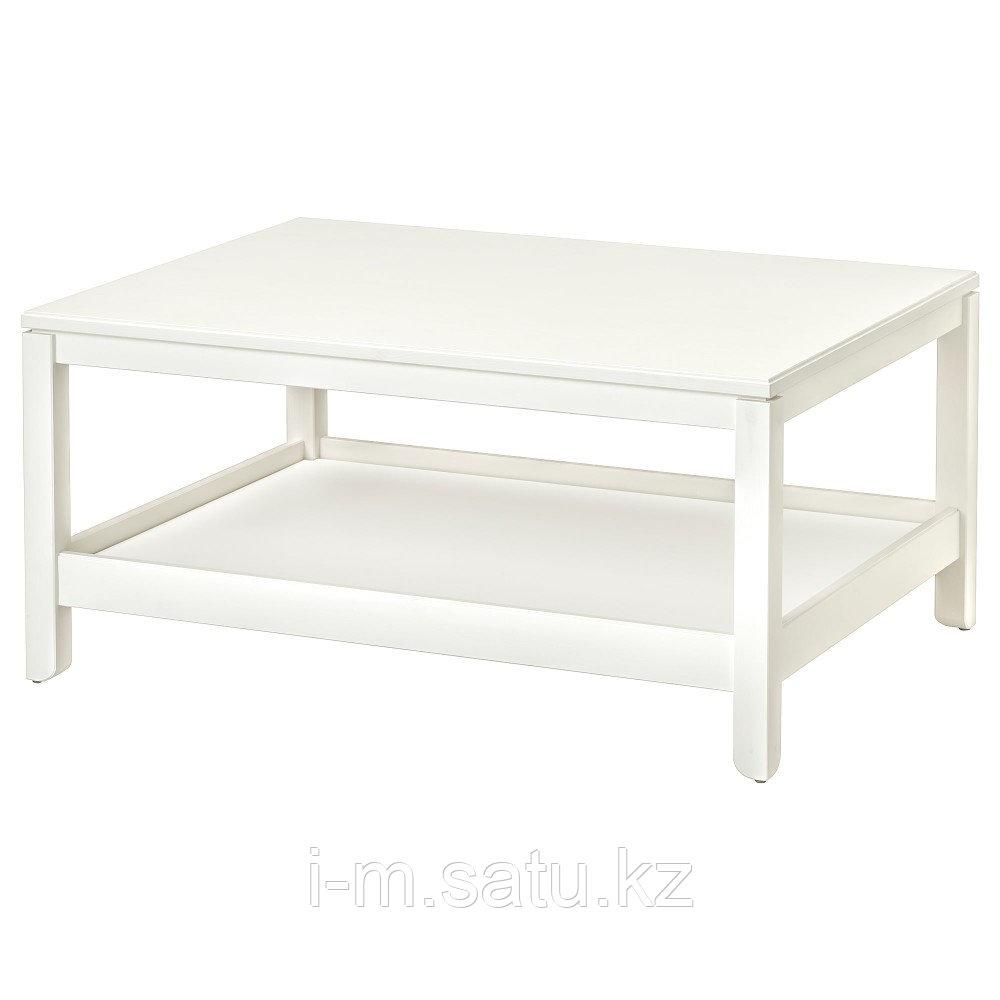 ХАВСТА Журнальный стол, белый, 100x75 см