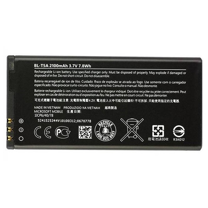 Батарея для Nokia Lumia 550 (BL-T5A, 2220 mAh)