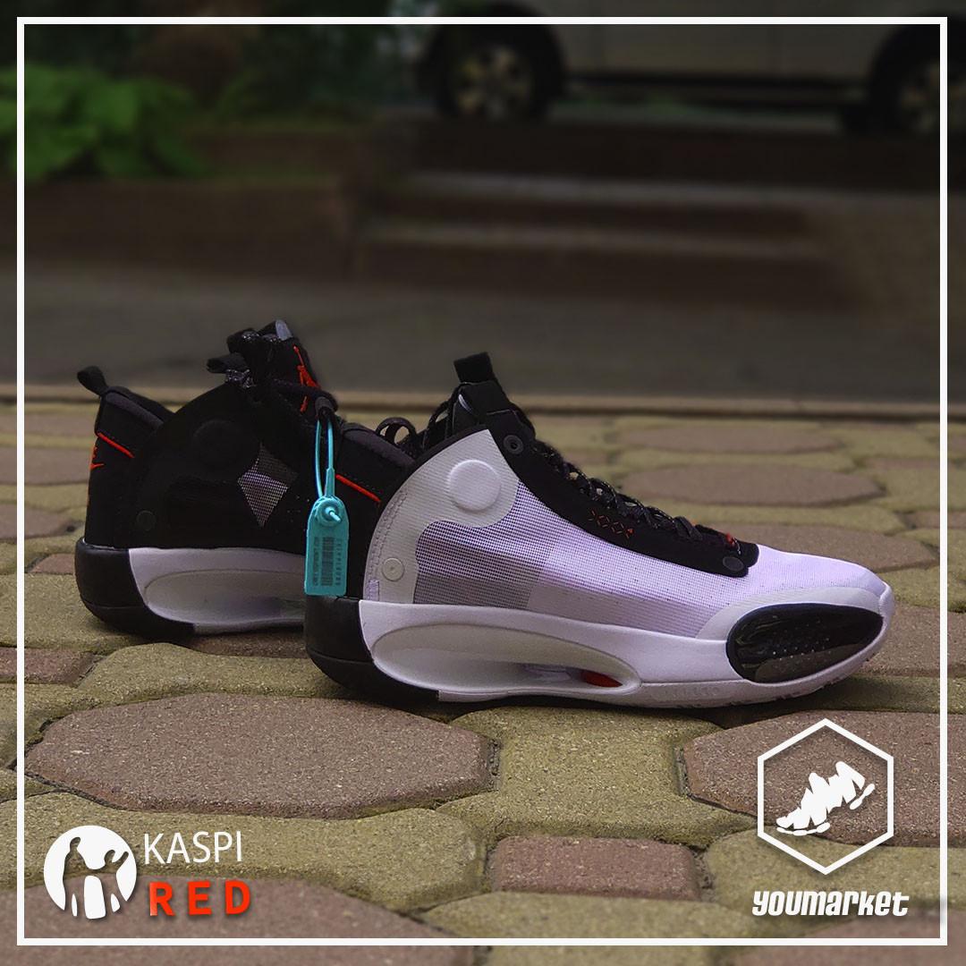 "Баскетбольные кроссовки Air Jordan 34 (XXXIV) ""White\Black""  (40-46)"