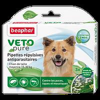 Биокапли VETO pure от паразитов для собак средних пород