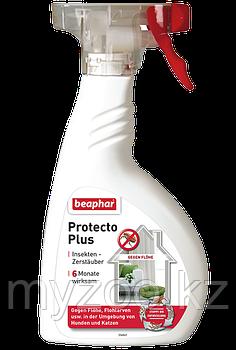 Спрей Protecto Plus для обработки помещений от паразитов 400 мл
