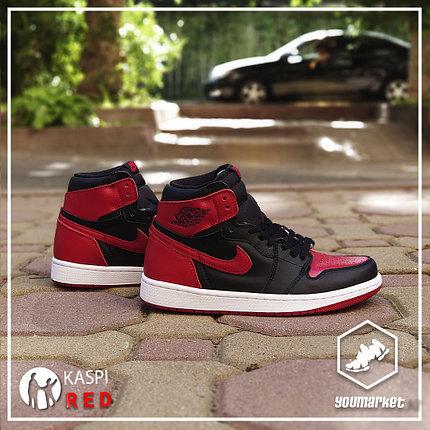 "Кроссовки Nike Air Jordan 1 Retro ""Banned"", фото 2"