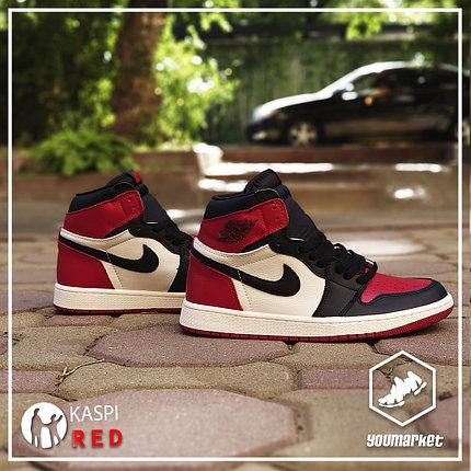 Культовые  ккроссовки Nike Air Jordan 1 Retro, фото 2