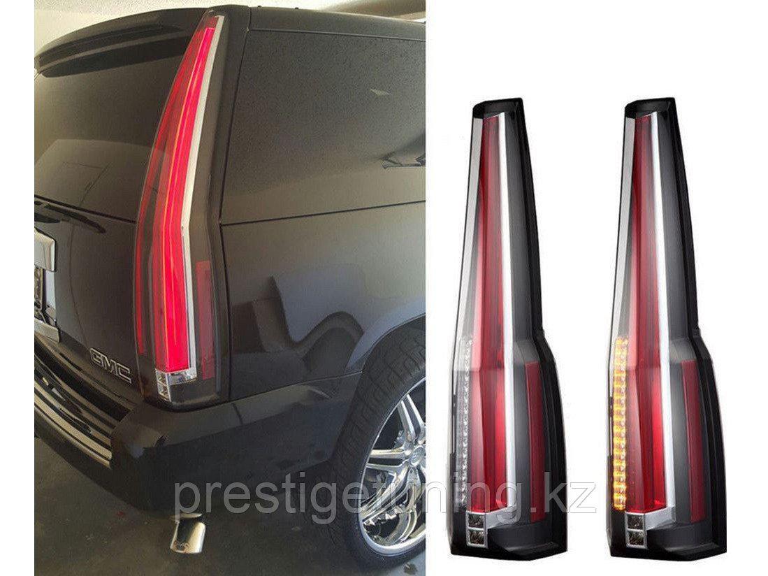 Задние фонари 4-го поколения на Cadillac Escalade 3 2006-2014