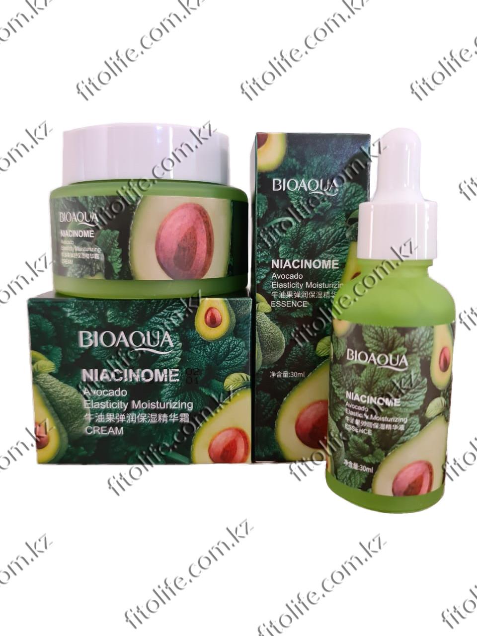 Набор для увлажнения лица BioAqua Niacinome Avocado