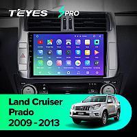 Магнитола Teyes SPRO для Toyota Land Cruiser Prado 150 2009-2013