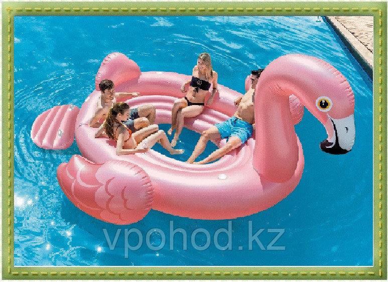 Надувной плот Фламинго, 422 х 373 х 185 см Intex 57267