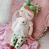 Нежная куколка-сплюшка с принтом авакадо Metoo