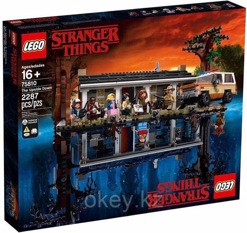 LEGO Exclusive: Очень странные дела - Stranger Things 75810