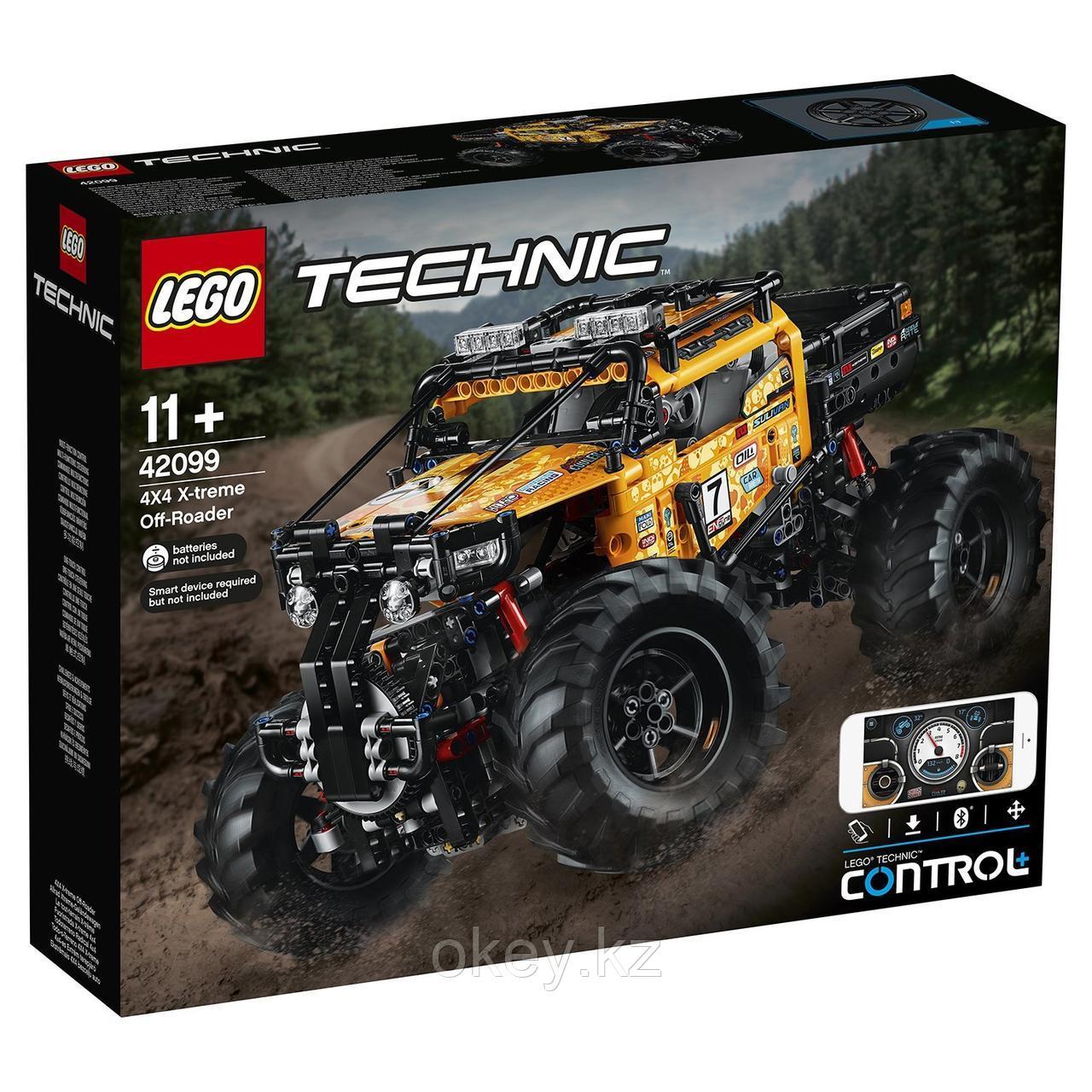 LEGO Technic: Экстремальный внедорожник 42099