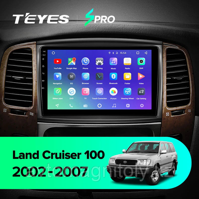 Магнитола Teyes SPRO для Toyota Land Cruiser 100 2003-2007