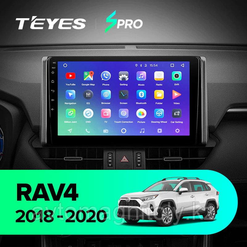 Магнитола Teyes SPRO для Toyota RAV4 2019+