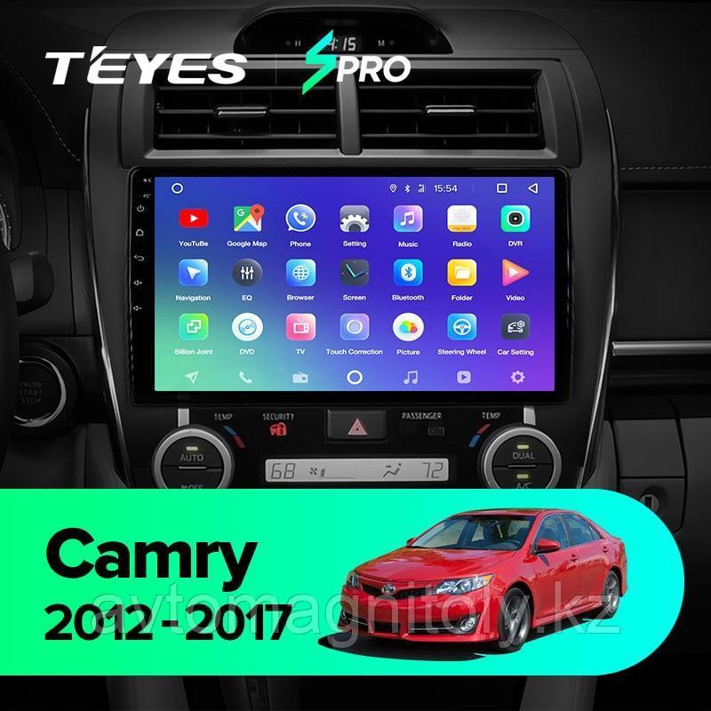 Магнитола Teyes SPRO для Toyota Camry 50 Америка