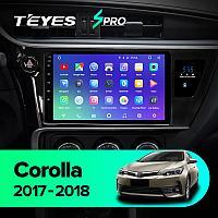 Магнитола Teyes SPRO для Toyota Corolla 2016-2018