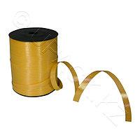 Россия Лента д/тортов и подарков 250м х10мм желтая