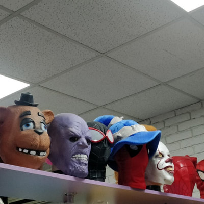 Маски персонажей