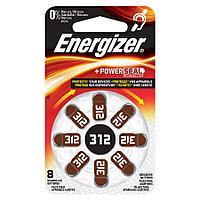 Батарейка для слуховых аппаратов 312 1.4V Energizer
