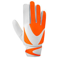 Перчатки вратарские, размер 7, цвет оранжево-белый