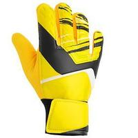 Перчатки вратарские, размер 8, цвет жёлтый