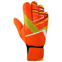 Перчатки вратарские, размер 9, цвет оранжевый