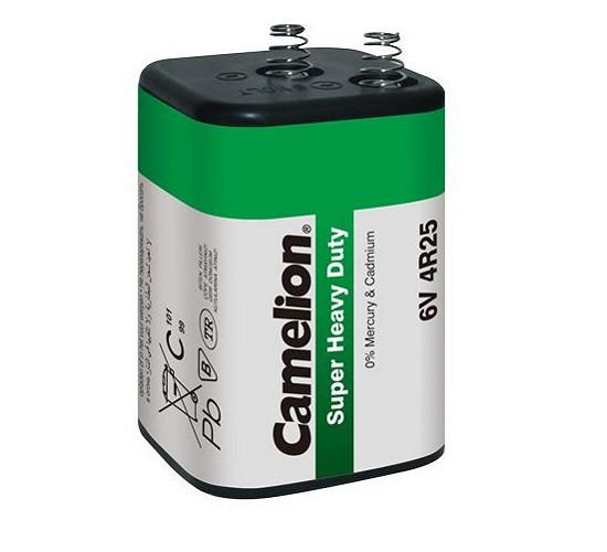 Солевая батарейка Camelion 4R25 7000 mAh 6V