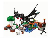 Конструктор lari 11265 Minecraft Нападение черного дракон