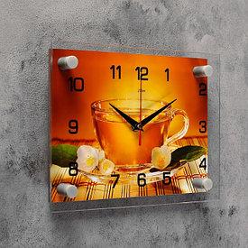 Часы из стекла