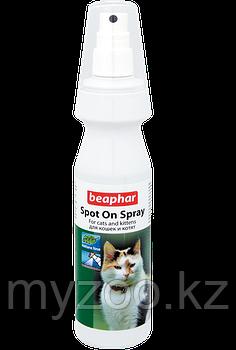 Cпрей Spot On Spray от клещей и блох для кошек и котят 150 мл