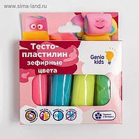 Тесто-пластилин 4 цвета. Зефирные цвета  TA1088